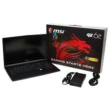 MSI GL62M 7RD-625 Gaming i7-7700HQ, 256GB SSD, 8GB RAM, nVIDIA GTX 1050 GDDR5