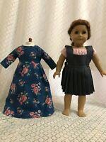 "Doll dress shirt for American girl 18"" Doll Clothes dress 3pcs"