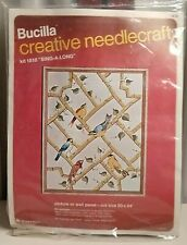 "Bucilla Needlecraft Vintage Crewel Embroidery Kit #1818 ""Sing-A-Long� Nip 20x24"