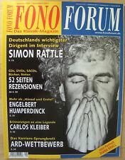 Fono Forum 9/04 Simon Rattle, E.Humperdinck, Carlos Kleiber, Bose Wave-Radio/CD