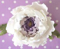 Zuckerblumen Zuckerblüten Pfingstrose Torte  Fondant Hochzeit  Geburtstag