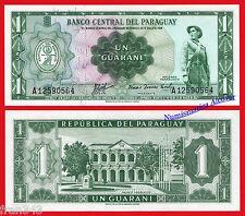 PARAGUAY 1 guarani Ley 1952 1963 Pick 193 a  SC / UNC