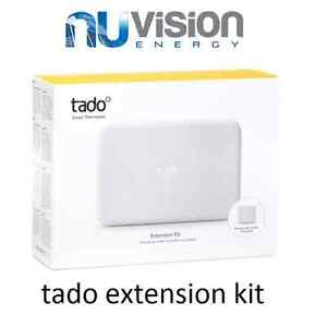 Tado° Extension Kit- Connect your Smart Thermostat to your boiler, Wireless New