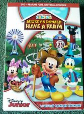 Disney's Mickey Mouse Clubhouse: Mickey & Donald Have a Farm DVD (NEW)