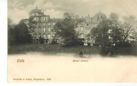 1904 GERMANY CPA POSTCARD CARTE POSTALE POSTKARTE : CELLE : KONIGL : SCHLOSS