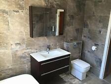 Sample of Porcelain Satin Stone Effect Tiles Bathroom Kitchen Matt