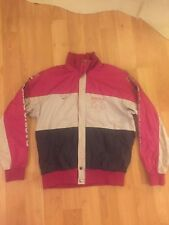 Vintage Descente Lightweight Ski Jacket Windbreaker / Pink Black Medium Japan