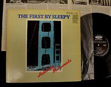 JAPANESE PRESSING Hidehiko Matsumoto Toshiba 9500 The First By Sleepy