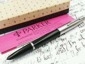 Parker 51 fountain pen box instructions