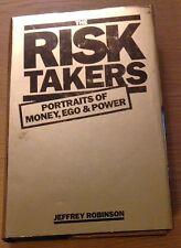 THE RISK TAKERS Jeffrey Robinson Book (Hardback)