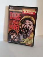 Gore and More - 10 Movie Pack (DVD, 2005, 3-Disc Set)  Vintage Horror