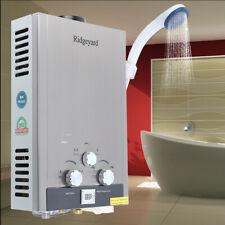 8L Natural Gas Durchlauferhitzer Warmwasserbereiter Wasserspeicher Wasser NEU
