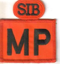 ROYAL MILITARY POLICE RED MP PATCH WITH SIB tab