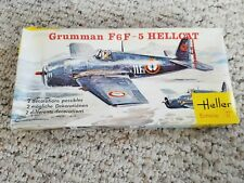 Vintage HELLER 1/72  Grumman F6F-5 Hellcat Aircraft Model Kit New in Package