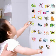 Animals A-Z 26 Alphabet Letters Wall Stickers Art Decor Kids Room Nursery Decal