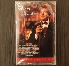 Barry Manilow Singin with Big Bands cassette sealed 1994 Arista 07822-18771-4
