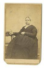 19th Century Fashion - 1800s Carte-de-visite Photo - Fowler & Co. of Newport, RI