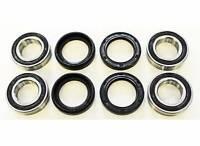 2000 2001 2002 Yamaha YFM400 400 Big Bear 4X4 Front Wheel Bearings And Seals X2