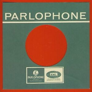PARLOPHONE (green £ logo & EMI) REPRODUCTION RECORD COMPANY SLEEVES (pack of 10)