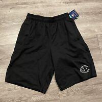 Details about  /Champion Nylon Crinkle Wraparound Script Logo Shorts Gray//White Men/'s Size Small
