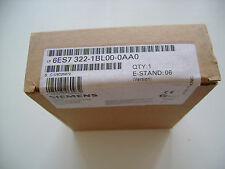 Siemens 6ES7 322-1BL00-0AA0 Output Module 6ES7322-1BL00-0AA0 sm322