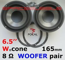 "JMlab FOCAL Pair WOOFER 6.5"" 165mm 6W4257B HOME AUDIO PROFILE ELECTRA UTOPIA DIY"