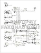 1976 GMC Chevy 9000 9500 Conventional Foldout Wiring Diagram GM 6-71 Heavy Truck