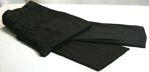 Perry Ellis Portfolio Mens  Size 44 x 30 Black Casual Dress Pants