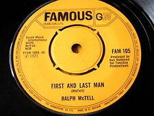 """Ralph McTell-primer y último hombre 7"""" Vinilo"""