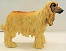 More details for leonardo resin dogs figures - afghan hound standing