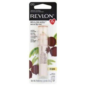 Revlon Kiss Lip Balm SPF 20 Lasting Hydration Natural Tropical Coconut 010
