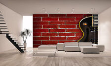 Guitar ,Music Wall Mural Photo Wallpaper GIANT DECOR Paper Poster Free Paste