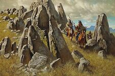 Frank McCarthy Where Ancient Ones Had Hunted LE COA mint condition signed