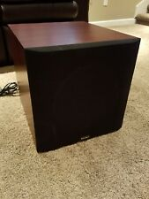 Paradigm PDR-10 Powered home theater subwoofer Rosenut Finish