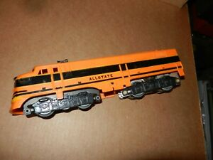 MARX Diesel Allstate A Unit,  Powered, Orange/Black, Plastic, Original
