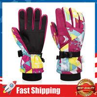 Kids Winter Gloves Waterproof Ski Gloves 3M Thinsulate Warm Snowboard Gloves
