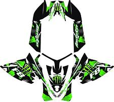 SNOWMOBILE WRAP ARCTIC CAT F8 DECAL WRAP KIT 05-12  ME V2 WITH TUNNELS