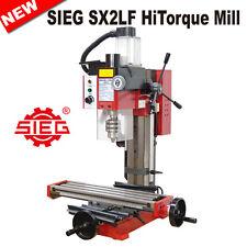 SIEG SX2LF HiTorque Mill 500W Brushless Motor /460x120mm Extra Long Rigid Column