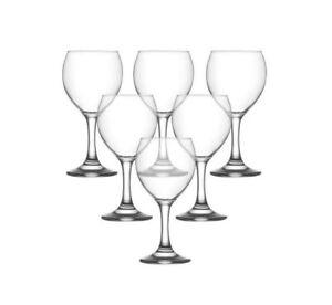 Lav Wine Glasses Set / Pack of 6 / 210 ml / Clear Wine Glass
