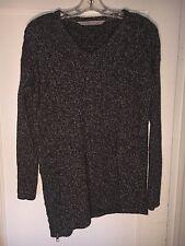 Athleta Northern Lights Assymetric Tunic Sweater 459083 Wool Cashmere XS.  A439