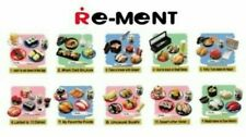 RARE Re-ment Miniature Revolving Sushi Japanese Bar Set NIB 1 box of 10sets