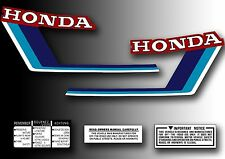 ATC 70 1983 Tank Decals Kit Stickers Set for Honda Trike