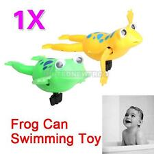 UN Swimming Frog Battery Operated Pool Bath Cute Toy Wind-Up Swim Frogs Kids Toy