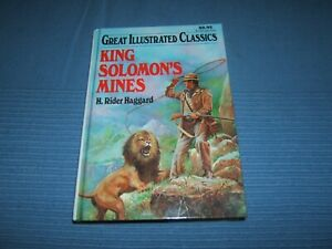 King Solomon's Mines by Haggard, H. Rider Hardcover Book