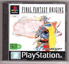 Playstation 1 PS1 - Final Fantasy Origins complet