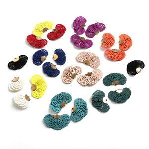 10pcs Velvet Tassel Charms Earrings Necklace Pendant for DIYJewelry Making