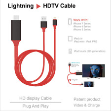Phone to TV1080P HDMI Adapter Lightning HDMI 4K High Speed iPhone6/7/8 iPad