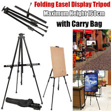 Portable Travel Folding Easel Artist Painting Display Tripod Stand Shoulder Bag