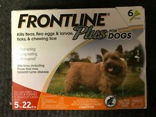 Frontline Plus for Small Dogs 6-Pack Waterproof Applications Brand New