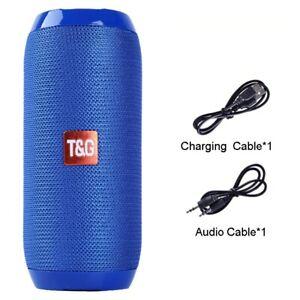 Portable Bluetooth Speaker 20w Wireless Bass Column Waterproof Outdoor Speaker S